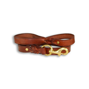 "1"" x 6' Field Leather Dog Lead"