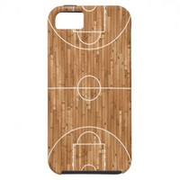 Basketball Court Case Cover iPhone 5 Covers from Zazzle.com