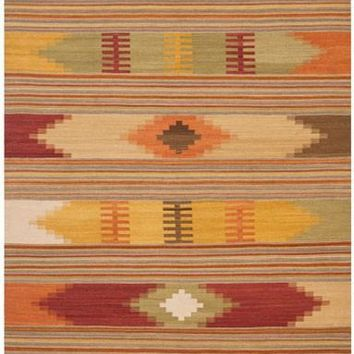 Safavieh Kilim NVK177A Red / Multi Rug
