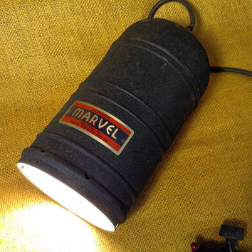 Junior Marvel Enlarger Condenser Head Lamp - DIY Convert into a Lamp Project. - Photographic Darkroom Enlarger Head