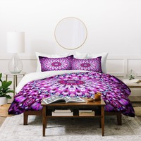 Monika Strigel Pink Arabesque Duvet Cover