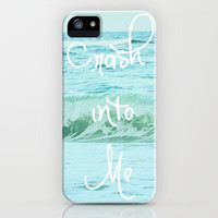 Crash into Me iPhone Case by Beth - Paper Angels Photography | Society6