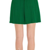 Rayon & Nylon Sweater Skirt by Leon Max | Max Studio Official
