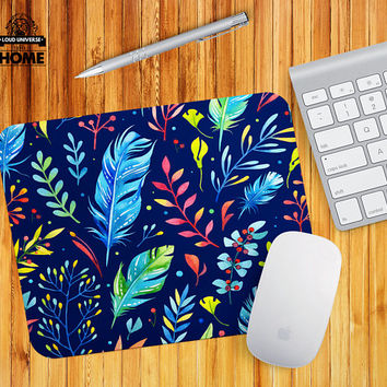 Mouse pad office supplies desk accessories printed fabric flexible mousemat coworkers gift mousepads chic mouse pad MP336