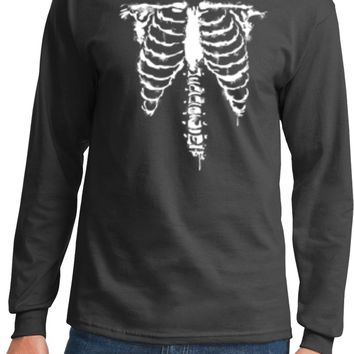 Halloween Skeleton Long Sleeve Shirt