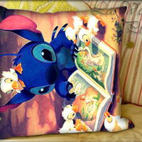 Lilo and Stitch - Pillow Cover and Pillow Case.
