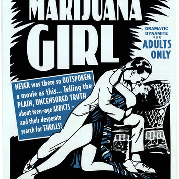 Marijuana Girl 24x36 Movie Poster (1969)