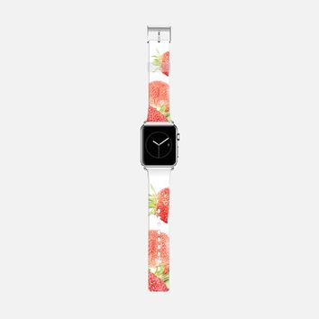 strawberries Apple Watch Band (42mm) by VanessaGF   Casetify