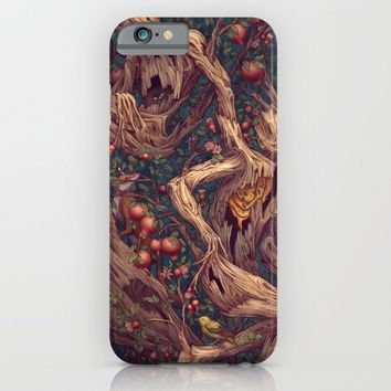 Tree People iPhone & iPod Case by Kate O'Hara Illustration
