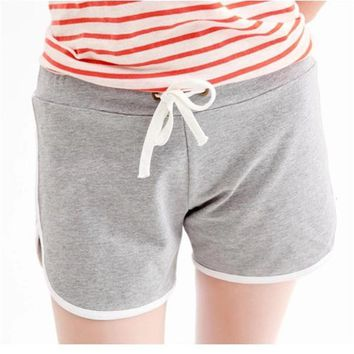 Hot Summer Female Shorts, Women Casual Candy Solid 11 Colours Short