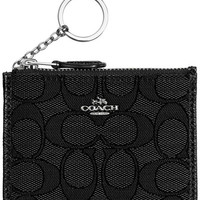 COACH Boxed Mini Skinny ID Case in Signature Jacquard - Handbags & Accessories - Macy's