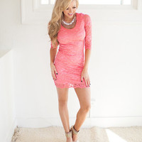 What Dreams are Made of Lace Dress