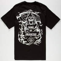 Metal Mulisha Sons Of Anarchy Sons Mens T-Shirt Black  In Sizes
