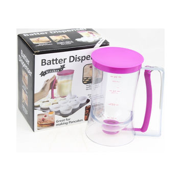Cupcake Pancake Batter Dispenser Muffin Helper Mix Pastry Jug Baking Tools Maker