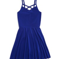 AQUAGirls' Strappy Knit Dress - Sizes S-XL
