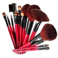 Amazon.com: Used and New: Shany Professional Cosmetic Brush Set with Pouch (Color May Vary), 13 pc.