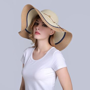Wide Brim Straw Bohemian Beach Hats