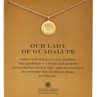 Women's Dogeared 'Our Lady of Guadalupe' Pendant Necklace