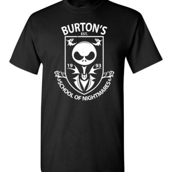 Burton's School Of Nightmares Unisex T-Shirt