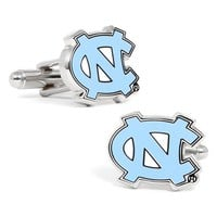 Men's Cufflinks, Inc. 'UNC Tar Heels' Cuff Links - Turquoise/ White