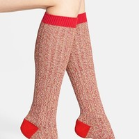 Women's Scott-Nichol 'Fern' Contrast Color Knee High Socks