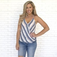 Sweet Thing Stripe Tank Blouse