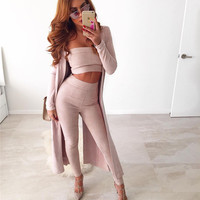 Bra Slim Bottom & Top Sexy Ladies Jumpsuit [9430884996]