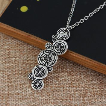 Doctor Who Gallifreyan Pendant Necklace