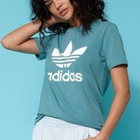adidas Adicolor Green Trefoil T-Shirt at PacSun.com