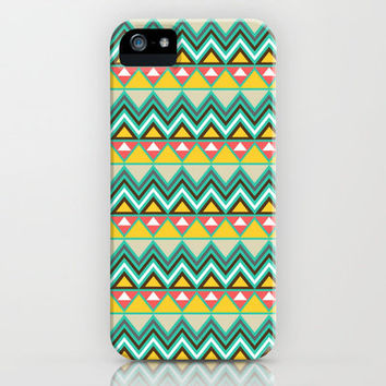 Aztec 6 iPhone Case by Samantha Ranlet | Society6