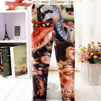 leggings How to Train Your Dragon 2 children pants girls leggings baby seal cute character pants boys and girls fashion