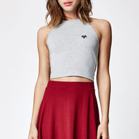 LA Hearts Ugh Cropped Halter Tank Top at PacSun.com