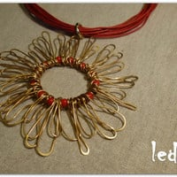 Sunflower Nacklace 2