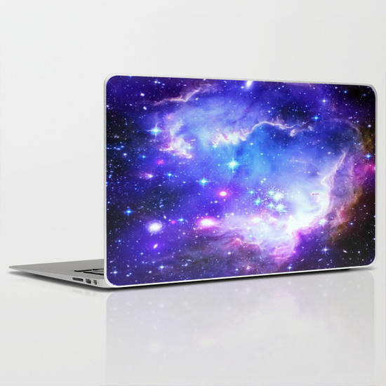 Galaxy Laptop Amp Ipad Skin By From Society6 Space