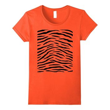 Tiger Print - Easy Halloween Costume Idea - Tee Shirt