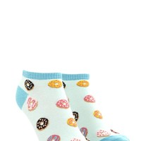Donut Graphic Ankle Socks | Forever 21 - 2000177638