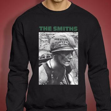 The Smiths Meat Is Murder Morrissey Men'S Sweatshirt