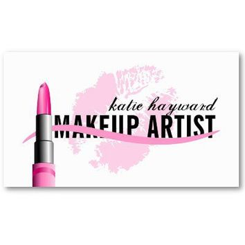 Makeup Artist Business Cards from Zazzle.com