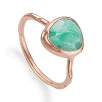 Monica Vinader 'Siren' Semiprecious Stone Stacking Ring | Nordstrom