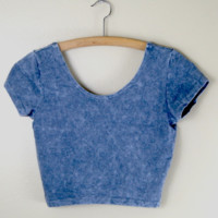 Claudia Acid Crop Tee