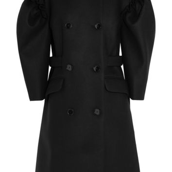 Simone Rocha - Ruffled wool-blend coat