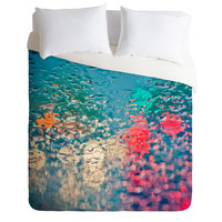 Bird Wanna Whistle Rain Impression Duvet Cover