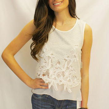 Mix-it-Up Embroidered Top