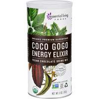 Essential Living Foods Drink Mix - Organic - Coco Gogo Energy Elixir - 11 Oz