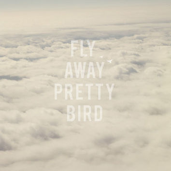 Fly away Art Print by CMcDonald | Society6