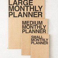 Poketo Medium Monthly Planner Notebook - Urban Outfitters