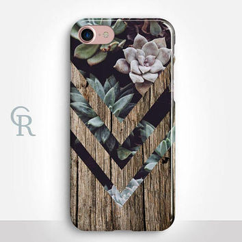 Succulent iPhone 6 Case For iPhone 8 iPhone 8 Plus - iPhone X - iPhone 7 Plus - iPhone 6 - iPhone 6S - iPhone SE - Samsung S8 - iPhone 5