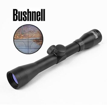 BUSHNELL Compact Rifle Scope 4x32 Hunting Scopes Crosshair Reticle Sight Sniper Riflescope For Airsoft Air Guns