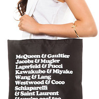 Dimepiece Tote You're Cool Too in Black