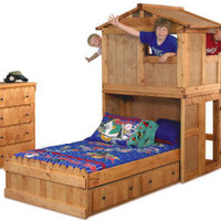 Secret Clubhouse Twin Fort Bed